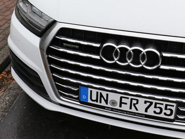 Wir fahren Audi