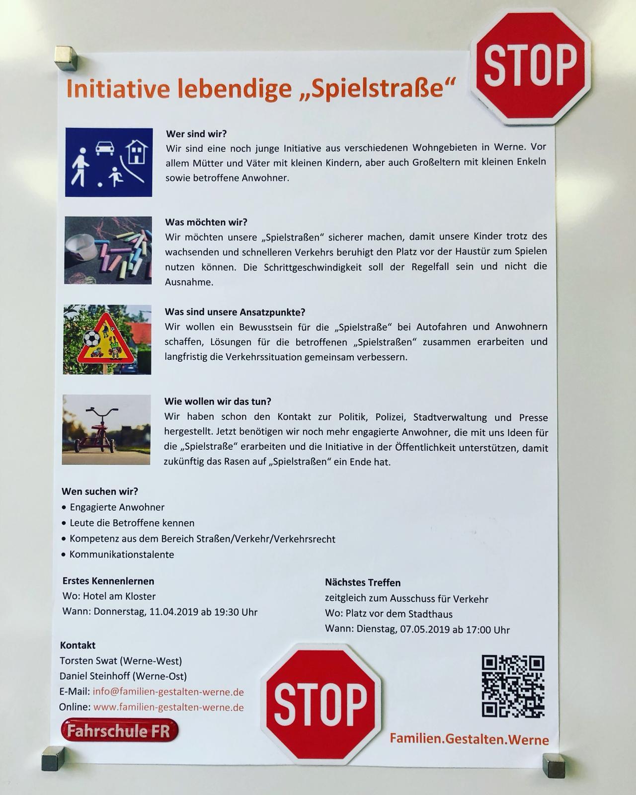 """Initiative lebendige """"Spielstraße"""""""