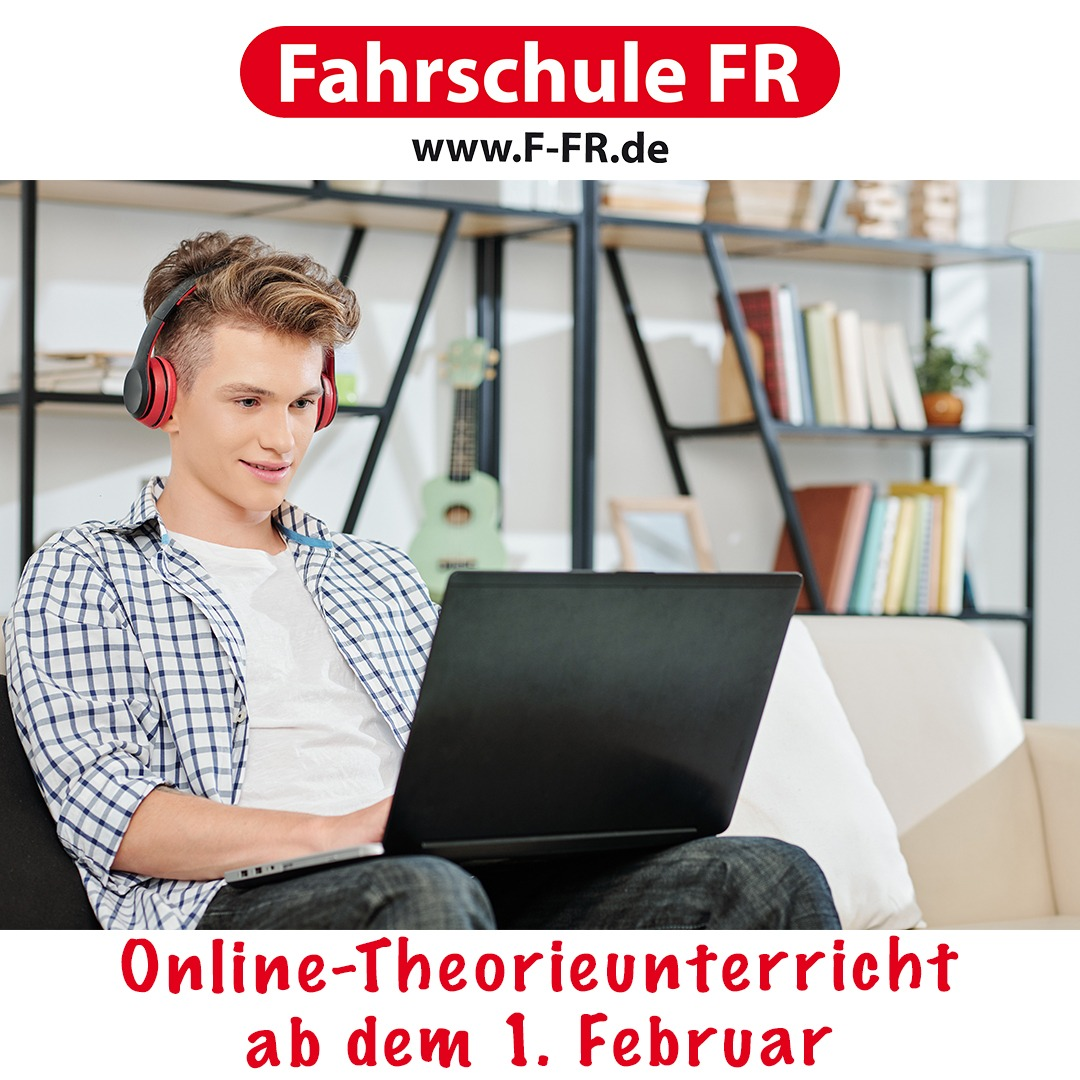 Theorie ONLINE ab 1.2.2021